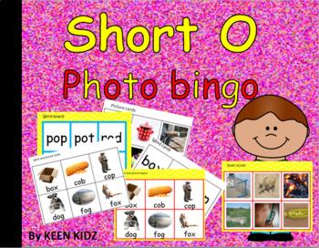 SHORT O PHOTO BINGO