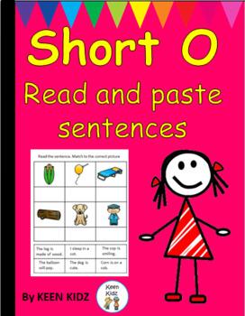 SHORT O READ AND PASTE SENTENCES