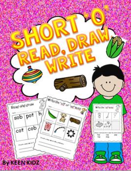 SHORT O READ, DRAW, WRITE