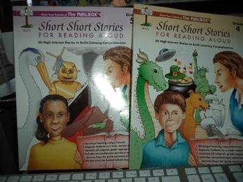SHORT SHORT STORIES FOR READING ALOUD     (SET OF 2)