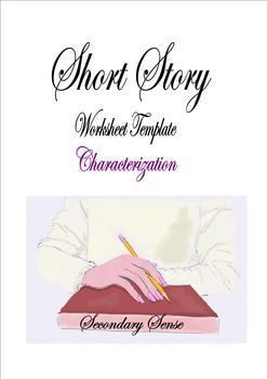 SHORT STORY Characterization Template