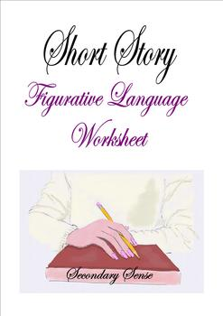 SHORT STORY Figurative Language Template