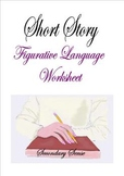 SHORT STORY Figurative Language Template