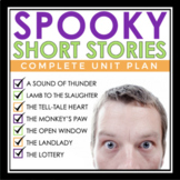 HALLOWEEN SHORT STORY UNIT: SCARY AND SURPRISING STORIES