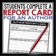 SHORT STORY NOVEL ASSIGNMENT AUTHOR REPORT CARD