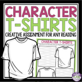 SHORT STORY NOVEL ASSIGNMENT - TSHIRT DESIGN FOR A CHARACTER