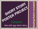 SHORT STORY PROJECT Poster Directions & Grading Rubric (any ELA short story!)