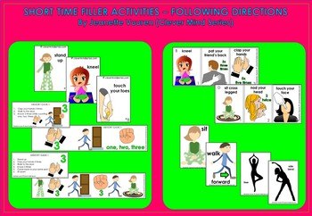 SHORT TIME FILLER ACTIVITIES: PREP - YEAR 3 by Clever Mind Series
