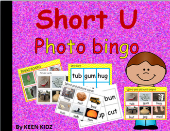 SHORT U PHOTO BINGO