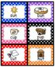 SHORT U RHYMING CARDS (Sorting/matching/memory)