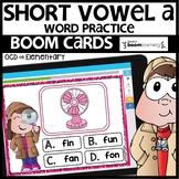 SHORT VOWEL A | BOOM CARDS | Digital Task Cards