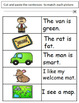 SHORT VOWEL 'A' DIFFERENTIATED WORKSHEETS