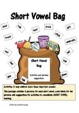SHORT VOWEL BAG- activities to help children understand sh