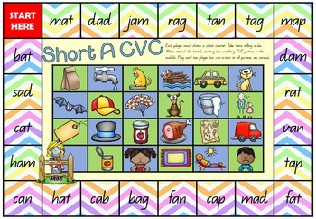 Bugging out with CVC - CVC board games packet