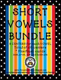 SHORT VOWEL LITERACY CENTER BUNDLE