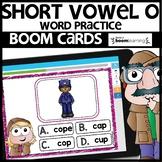 SHORT VOWEL O | BOOM CARDS | Digital Task Cards