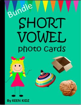 SHORT VOWEL PHOTO CARDS BUNDLE