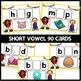 BOOM CARDS   SHORT VOWEL PRACTICE   Digital Task Cards   Distant learning