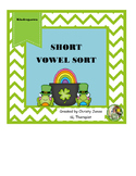 SHORT VOWEL SORT for KINDERGARTEN