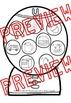 SHORT VOWEL SOUNDS CENTER❤GUMBALL SORTING ACTIVITY&RECORDING SHEETS❤SHORT VOWELS