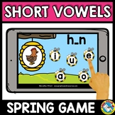 SHORT VOWELS CVC WORD WORK (MEDIAL SOUND SPRING ACTIVITY K