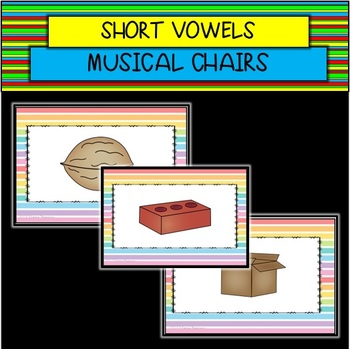 Short Vowel Musical Chairs GAME