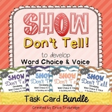 SHOW DON'T TELL Writing Through the Year BUNDLE {All 4 Sets!}