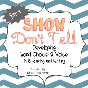 SHOW DON'T TELL Writing Through the Year, Set 3