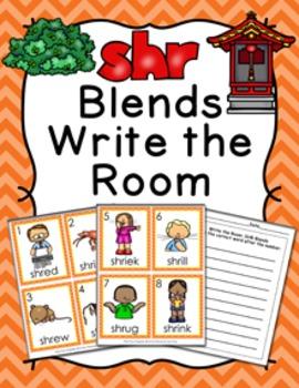 SHR Blends Write the Room Activity