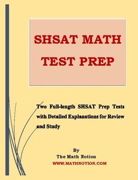 SHSAT Math Tests Prep
