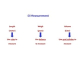 SI Measurement (Standard International Measurement)