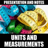 SI Units & Measurements Presentation and Notes | Print | D