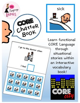 SICK: Interactive CORE City Chatter Book