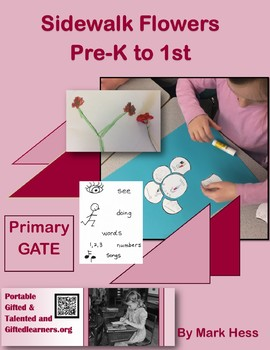SIDEWALK FLOWERS for Pre-K to 1st Primary GATE - Picture Book Critical Thinking