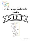 SIFT Strategy Bookmarks *FREEBIE*