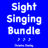 SIGHT SINGING BUNDLE in C and F