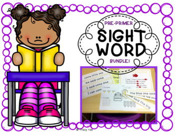 SIGHT WORD, 5 PRE-PRIMER WORDS