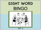SIGHT WORD BINGO Set 2