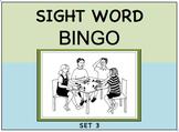 SIGHT WORD BINGO Set 3