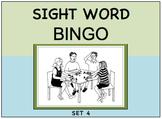 SIGHT WORD BINGO Set 4