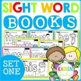SIGHT WORD BOOKS SET 1