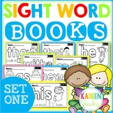 SIGHT WORD BOOKS-SET 1 Distance Learning