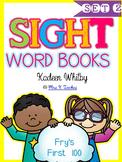SIGHT WORD BOOKS (SET 2 SECOND 20) FRY'S LIST