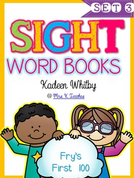 SIGHT WORD BOOKS SET 3