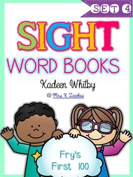 SIGHT WORD BOOKS SET 4