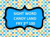 SIGHT WORD CANDY SWEETS FRY 3rd 100