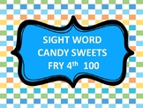 SIGHT WORD SWEETS LAND -FRY 4TH 100
