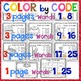 SIGHT WORD Color By Code: Fry Words 1-25