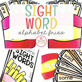 SIGHT WORD EDITABLE ALPHABET FRIES