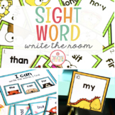 SIGHT WORD EDITABLE WRITE THE ROOM ACTIVITY
